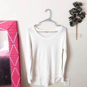 Madewell White Sweater Size Small